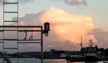 Znaki dla powracających z rejsu jachtów