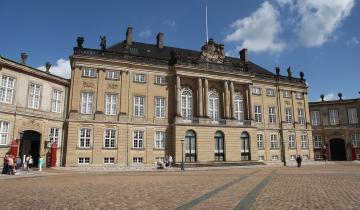 Amalienborg w Kopenhadze