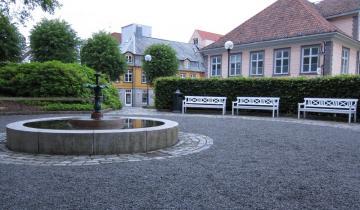 Zabytkowe centrum miejscowości