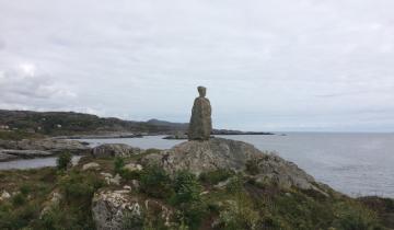 Pomnik nad morzem
