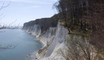 Wysoki brzeg Morza Bałtyckiego