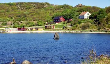 Zatoka na wyspie Bornholm