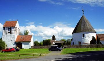 Kościół na wyspie Bornholm