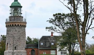 Latarnia na wyspie Bornholm