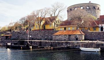 Zabytkowy port na Christiansø