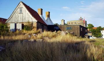 Zabytkowe zabudowania na Christiansø