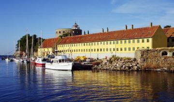 Christiansø - wyspa na Bałtyku