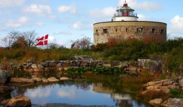 Latarnia na wyspie Christiansø