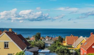Dania - widok na Bałtyk