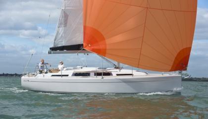 Jacht żaglowy Hanse 345