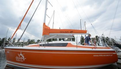 Jacht żaglowy Solina 27