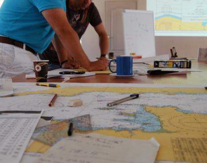 Zajęcia skiperskie z nawigacji